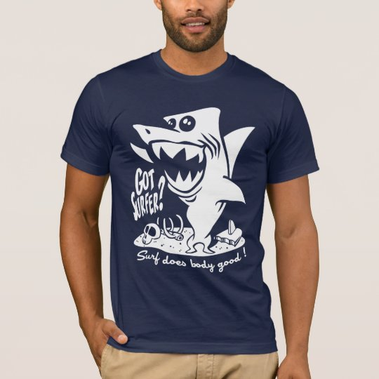 Surfing does bodystocking good! T-Shirt