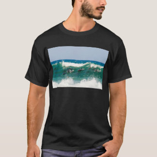 Surfing dolphins T-Shirt