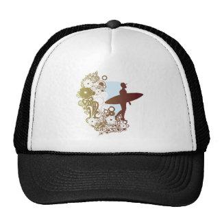 surfing dreams mesh hats