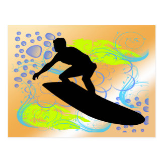 Surfing Dreams Postcard