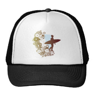 surfing dreams trucker hat