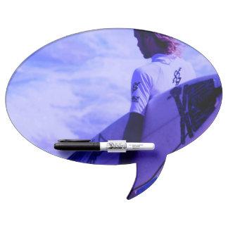 Surfing Dry Erase Whiteboard