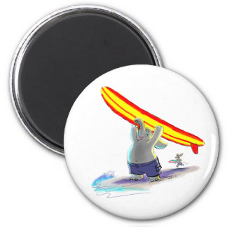 sUrFiNg eLePhAnt 2 Inch Round Magnet