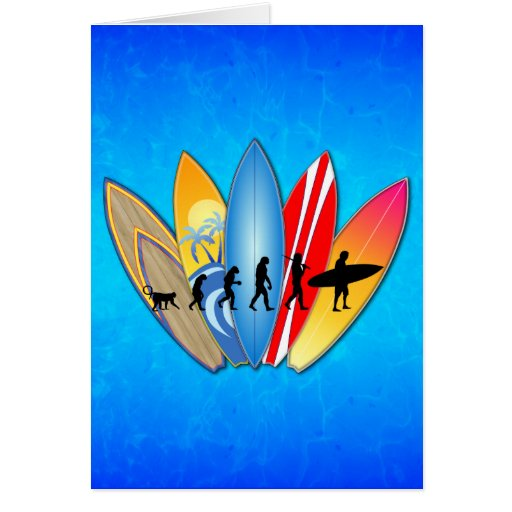 Surfing Evolution Cards