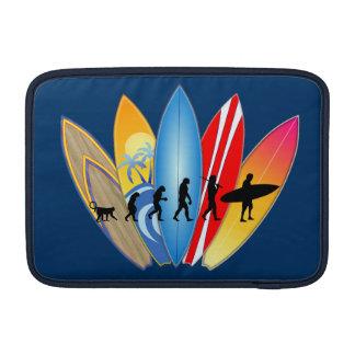 Surfing Evolution MacBook Sleeve