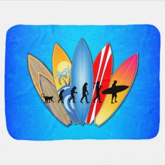 Surfing Evolution Stroller Blankets