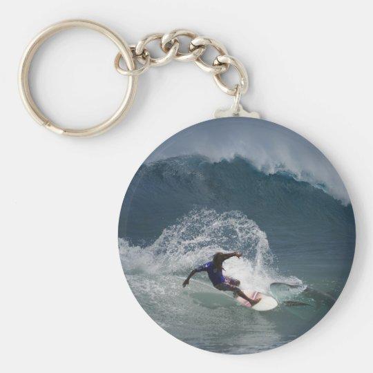 Surfing Ferinds Keychain