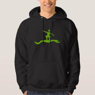 Surfing Figure - Martian Green Hoodie