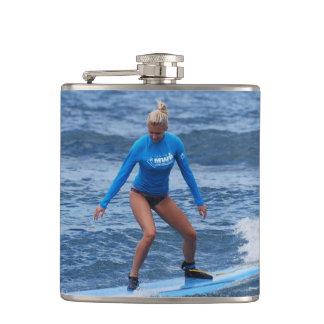 Surfing Hip Flasks