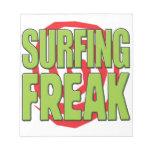 Surfing Freak G Memo Note Pads