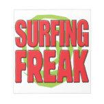 Surfing Freak R Memo Note Pad