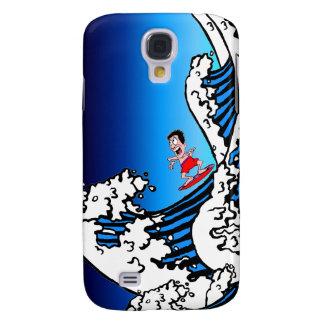 surfing galaxy s4 case