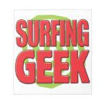 Surfing Geek Memo Notepads