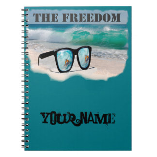surfing gifts notebook