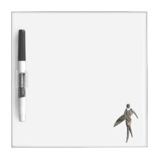 Surfing Girl; Cool Dry-Erase Board