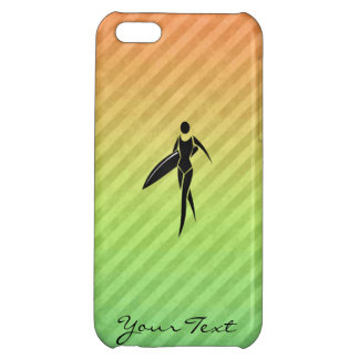 Surfing Girl Cover For iPhone 5C
