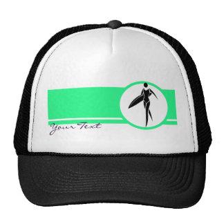 Surfing Girl Mesh Hat