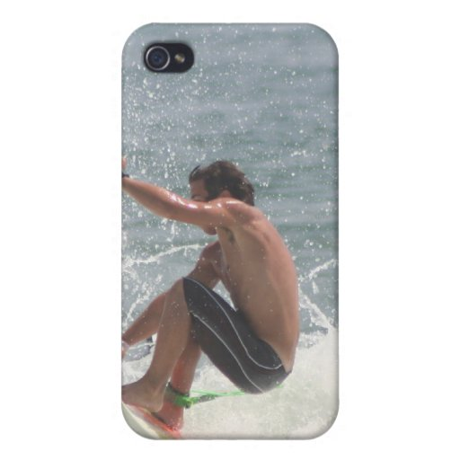 Surfing Grab iPhone 4 Case
