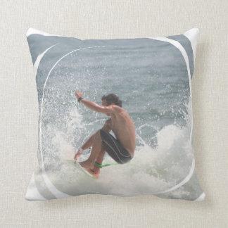 Surfing Grab Pillow
