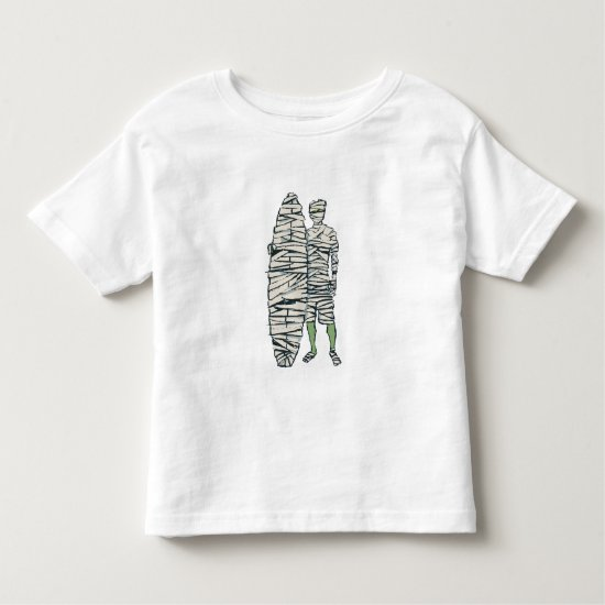 Surfing Halloween Mummy Toddler T-shirt