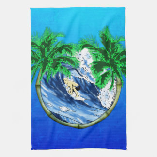Surfing Hand Towel