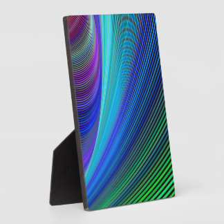 Surfing in a magic wave plaque