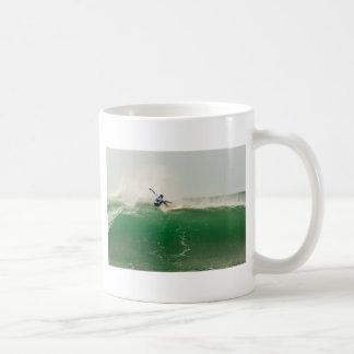 Surfing in Biarritz Coffee Mug