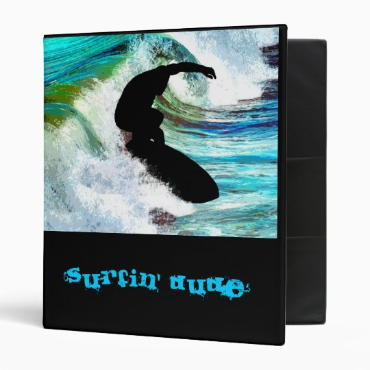 Surfing in Curling Wave Binder
