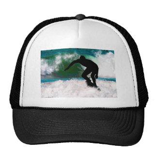 Surfing in Ocean Foam Trucker Hat