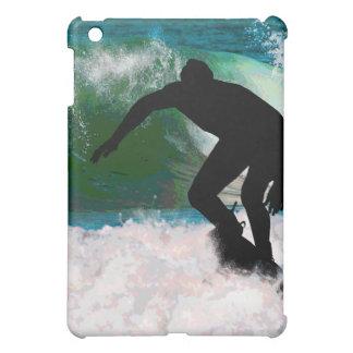 Surfing in Ocean Foam iPad Mini Cover