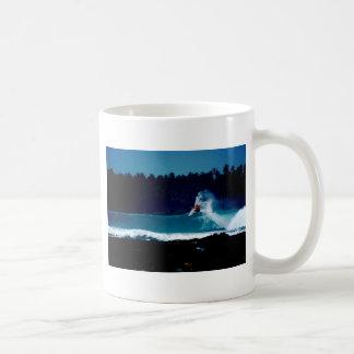 surfing indonesia nias air reverse blowtail coffee mug