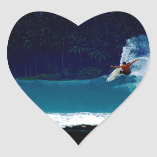 surfing indonesia nias air reverse blowtail heart sticker