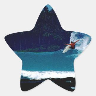 surfing indonesia nias air reverse blowtail star sticker