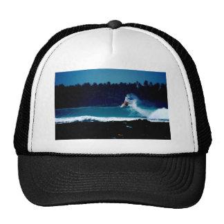 surfing indonesia nias air reverse blowtail trucker hat