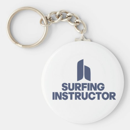 Surfing Instructor Key Chains