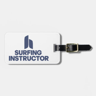 Surfing Instructor Luggage Tag
