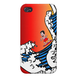 surfing iPhone 4/4S cover