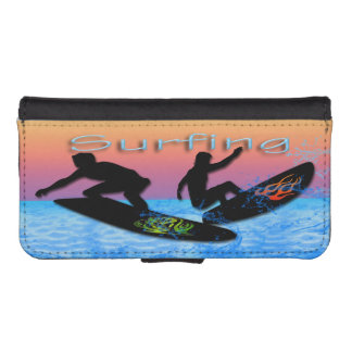 Surfing iPhone 5/5s Wallet Case