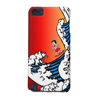 surfing iPod touch (5th generation) case