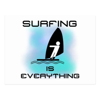 Surfing is Everything T-shirts and Gifts Postcard