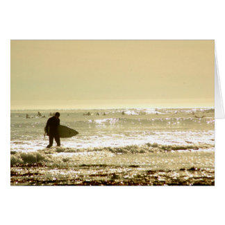 Surfing is Good for the Soul Greeting Card