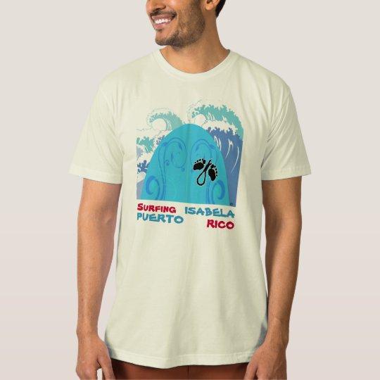 Surfing ISABELA, Puerto Rico T-Shirt