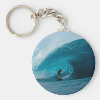 Surfing Key Chain