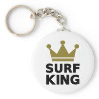 Surfing King Keychains