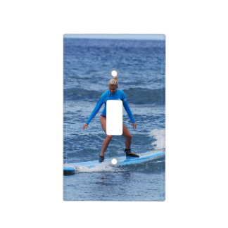 Surfing Switch Plate Covers