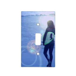 Surfing Light Switch Covers