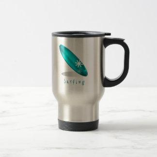 Surfing Logo  Stainless Travel Mug