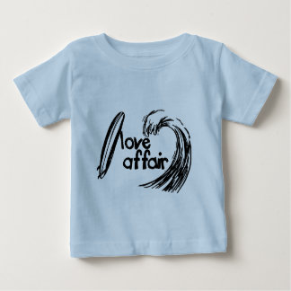 Surfing Love Affair for toddlers Baby T-Shirt