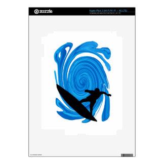 SURFING LOVE OCEAN iPad 3 SKINS