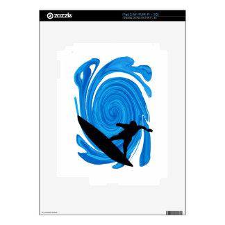 SURFING LOVE OCEAN SKIN FOR iPad 2